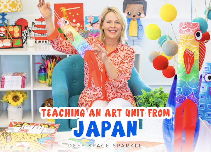 teaching an art unit from japan sparklers club tips