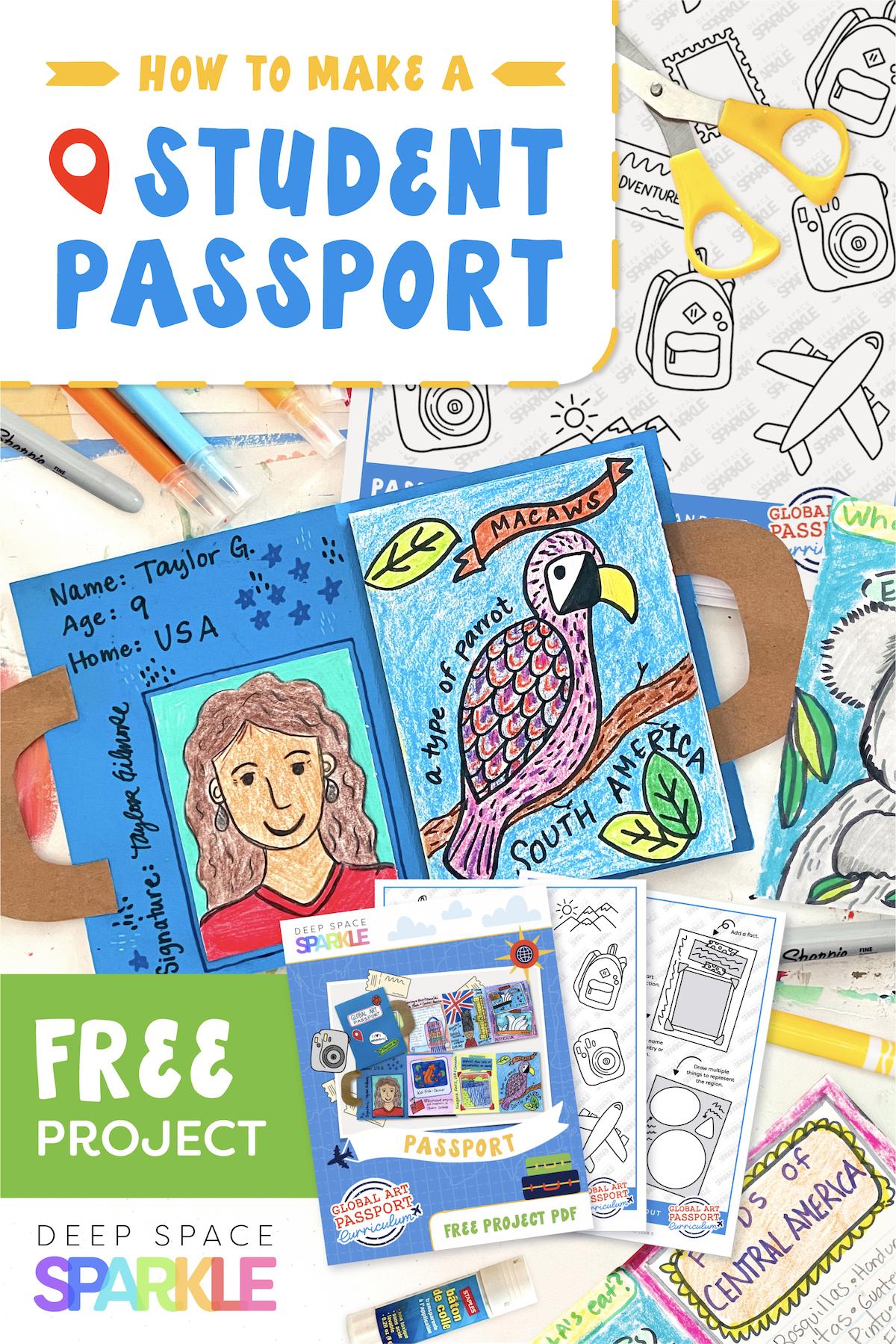 GAP Blog gap curriculum making passports with students